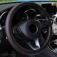 Steering Wheel Cover Braid On The Steering Wheel Cover Cubre Volante Auto Car Wheel Cover Car Accessories
