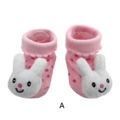 2019 new clothing Cartoon Newborn Baby Girls Boys Anti-Slip Socks Slipper Shoes Boots kids clothes suit Baby Socks S(0-12M)