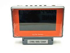 "5"" LCD HD 1080P AHD CCTV Tester Analog Camera Wrist Monitor UTP 12V Power Output"
