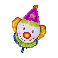Jumbo Foil Helium Clown Balloon Circus Kids Birthday Party Game Reward Fun Gift