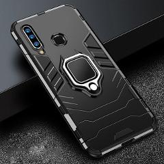 For Honor 20s 20 s Case Armor PC Cover Metal Ring Holder Phone Case For Huawei Honor 20 s MAR-LX1H Cover Shockproof Bumper Shell