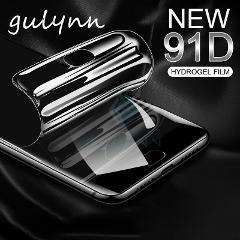 91D Soft Silicone Hydrogel Screen Protector TPU Clear Hydrogel Film For Samsung Galaxy A10 A30 A40 A50 A70 S 2019 J3 J5 J7 Pro