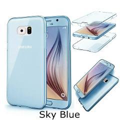 Full Body Clear Case for Samsung Galaxy J2 J4 J6 J8 A6 A8 A9 A7 2018 A750 S8 S9 S5 S6 S7 edge Note 8 9 10 360 Degree Soft Cover