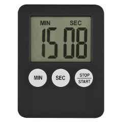 Fashion Simple Super Thin  LCD Digital Screen Kitchen Timer Square Cooking Timer    Count Up Countdown Alarm with Magnet