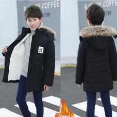 Winter Clothes Boy 4 Warm 5 Thick 6 Autumn and Winter 9 Jacket 8 Middle School 10 Years Old Children Coat Kids Winter