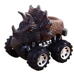 2018 Children's Day Gift Toy Dinosaur Model Mini Toy Car Back Of The Car Gift Truck Hobby Funny Gift KID Drop Shipping