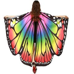 Chamsgend Drop Shipping HOT Women Butterfly Wings Pashmina Shawl Scarf Nymph Pixie Poncho Costume Accessory 70925