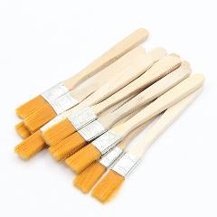 10pcs BGA Solder Flux Paste Brush With Wooden Handle Reballing Tool
