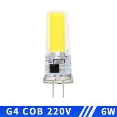 COB LED Lamp G4 G9 E14 AC / DC 12V 220V 3W 6W 9W Lampada LED G4 G9 Bulb Dimmable for Crystal Halogen Spotlight Chandelier Lights