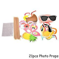 Hawaii Party Luau Pink Flamingo Party Decoration Paper Plate Cup Napkin Birthday Party Summer Hawaii Hawaiian Party Supplies