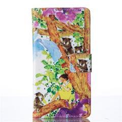 Cover For Samsung Galaxy Note 9 8 A3 A5 j5 2017 2016 S10E S10 S9 S8 Plus PU Leather Book Flip Design Wallet Case Cows Bells D03Z