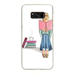 Ok But First Coffee Book Hard Phone Case for Samsung S6 S7 Edge S8 S9 S10 Plus S10e Note 8 9 10 M10 M20 M30 M40