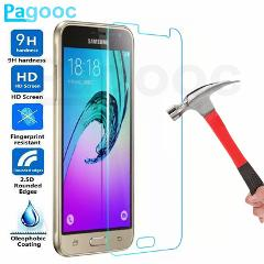 9H Protective Tempered Glass On For Samsung GalaxyJ3 J5 J7 2016 2017 J5 J7 J2 Prime J4 J6 Plus 2018 Screen Protector Film Case