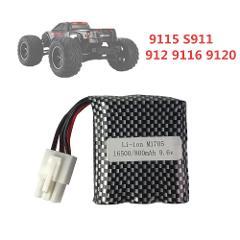 New Version Original 9115 S911 912 9116 Battery 9.6v 800mAh EL-6P Li-ion Battery  For RC Car RC Monster Truck EL6P Parts