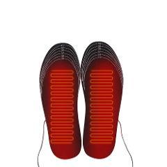 1 Pair USB Heated Insoles Foot Warming Pad Feet Warmer Sock Pad Mat Winter Outdoor Sports Heating Shoe Insoles Winter Warm