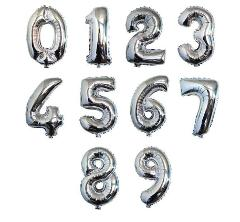 "16"" 40"" Rose Gold Helium Foil Balloon Birthday Party A-Z Letter And 0-9 Number"