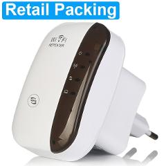 Wireless Wifi Repeater 300Mbps Network Wifi Extender Long Range Signal Amplifier Internet Antenna Signal Booster Access Point