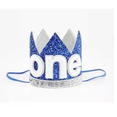 2020 Maximum Supplier 1Pcs Baby Girl Boy Kids Half 1/2 First Second Birthday Crown Party Hat Headband Props