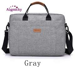 """New Men Handbag Office Travel Shoulder Messenge Women's Laptop Bag Business Trip File Package Notebook Bag For 13.3""""14""""15.6""""inch"""