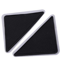 Ceramic 4 X Carpet Pad Non Slip Tri Sticker Waterproof Anti-moisture PVC Anti Slip Mat Pads Anti Slip Wall Corner Line Sink