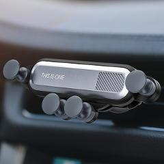 GTWIN Gravity Car Holder For Phone in Car Air Vent Clip Mount No Magnetic Mobile Phone Holder GPS Stand For iPhone Xiaomi Huawei