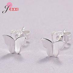 Lovely Stud Earring Pendientes Nice Christmas Birthday Gifts for Girl Child Women Fine 925 Sterling Silver Loss Money for SALE