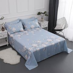cotton printing Bedding Flat Sheet Bed Linens Single / double Bedsheets Home Textile Twin Full Queen size bed sheet