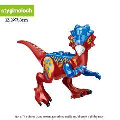 Legoing Jurassic World Park Dinosaur animal Building Blocks figures compatible with Legoed Duploes bricks toys for Childrens