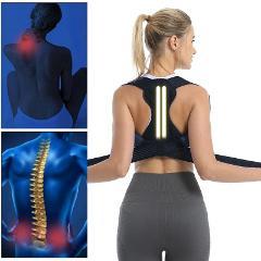 Back Posture Correction Belt Posture Corrector Shoulder Back Pain Reliever Spine Straightener Adjustable Humpback Orthopedic