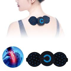 Portable Massager Mini Massage Stickers Neck Stickers Cervical Massager Pain Relief Vertebra Physiotherapy Neck Massager