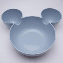 Cartoon Mouse Mickey Bowl Dishes Lunch Box Kid Baby Children Infant Baby Rice Feeding Bowl Plastic Snack Plate Tableware
