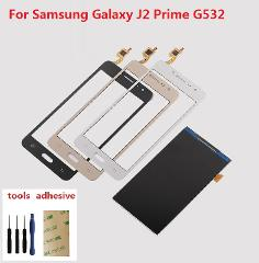 For Samsung Galaxy Grand J2 Prime SM-G532F G532H G532H/DS Touch Screen Digitizer Sensor + LCD Display Screen + Adhesive + Kits