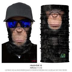 3D Seamless Balaclava Magic Scarf Neck Face Mask Ghost Skull Skeleton Head Bandana Shield Headband Headwear Bandanas Men Bicycle