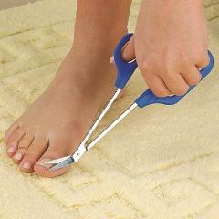 20cm(7.87'') Long Reach Easy Grip Toe Nail Toenail Scissor Trimmer for disabled Cutter Clipper Manicure Pedicure Trim Chiropody