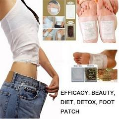 Detoxifying Foot Patches Feet Slimming Cleansing Foot Spa Improve Sleeping Quality Slim Women Beauty Detox Body Care