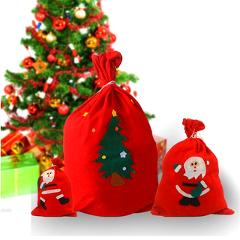 Christmas Santa Sack Gift Presents Bag Candy Bags Children Gift Bags Xmas Christmas Tree Decoration New Year Products