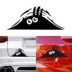 Funny Peeking Monster 3D Big Eyes Car Sticker for ford focus 2 3 Hyundai solaris i35 i25 Mazda 2 3 6 CX-5 Car Accessories