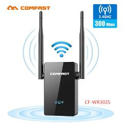 Comfast 300M Wireless WiFi Repeater 10dbi Antenna Strong WiFi Signal Amplifier Wireless Router WiFi Range Extender Expand Booste