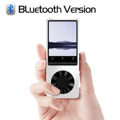 BENJIE X3 Metal Bluetooth MP3 Player Portable Audio 4GB 8GB Music Player with Built-in Speaker FM Radio,Recorder,E-Book,Clock