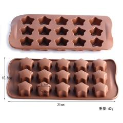 Silicone Chocolate Bar Mold Chocolate Baking Tools Non-stick Cake Mold DIY Jelly&Candy Mold 3D Mold Cake Decoration Baking Tools