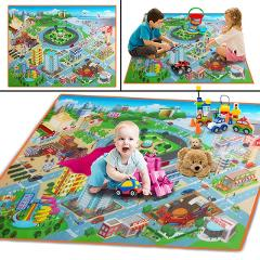 HIINST Baby Toy Colorful 3D Cloth Crawl Play Game Picnic Carpet Beach Toys  Kids  multi-function  map quality Playing Toys