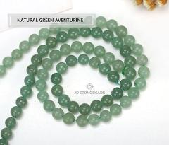 Natural Green Aventurine Frost Round Beads Blue Round Color Aventurine Size 4 6 8 10 mm Faceted Gemstone For Jewelry making