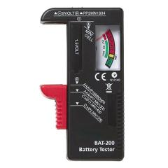 New Indicator Universal Battery Cell Tester AA AAA C/D 9V Volt Button Checker testing Capacity Of Your Battery Travel Batteries