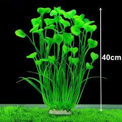 Beautiful Artificial Plants Aquarium Decoration Plastic Submersible Aquatic Fish Tank Grass Ornament Plant Aquarium Background