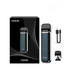 Original Smok Novo Kit 16W NOVO MOD Vape Pen 450mAh Battery 2ML POD Cartridge Electronic Cigarette E Cigs VS Nord Vape Vaporizer