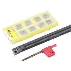 S12M-SCLCR09 S16Q-SCLCR09 S20R-SCLCR09 S25S-SCLCR09 S14N Internal Turning Tool Holder CCMT Carbide Inserts Lathe Cutting  Set
