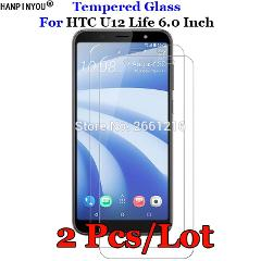 2 Pcs/Lot For HTC U12Life Tempered Glass 9H 2.5D Premium Screen Protector Film For HTC U12 Life 6.0