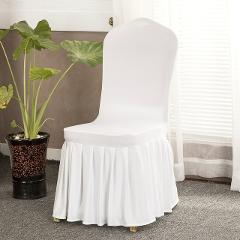 New Arrival Seat Covers Comfortable Wrinkle Resistant Spandex Chair Hood Removable Stretch Dining Room Banquet Chair Covers