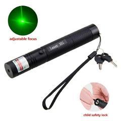 5mw 532nm/650nm/405nm Pointer Pen Flashlight Powerful LED Torch Pen Flashlight Visible Beam Light for Presentation Teaching Prop