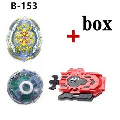 Electric Beyblade Burst B-153 Spinning Beyblades Imperial Aegis With Launcher And Box Electric B153 Rotating Light Bayblade